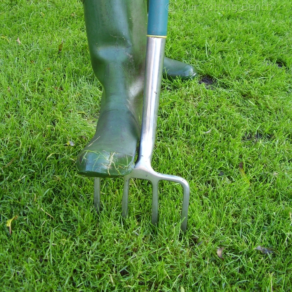 Step 1 of How to keep a lawn drained
