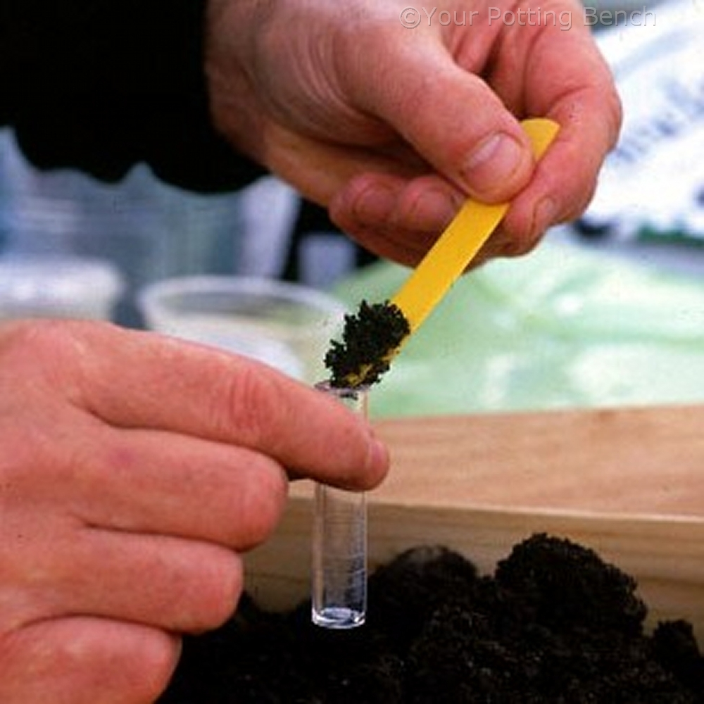Step 2 of How to pH Test Soil