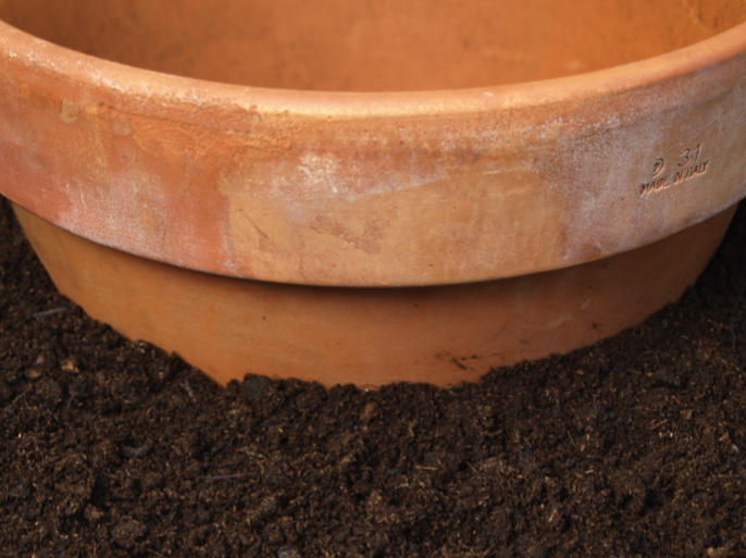 Step 2 of How to make a Herb Planter