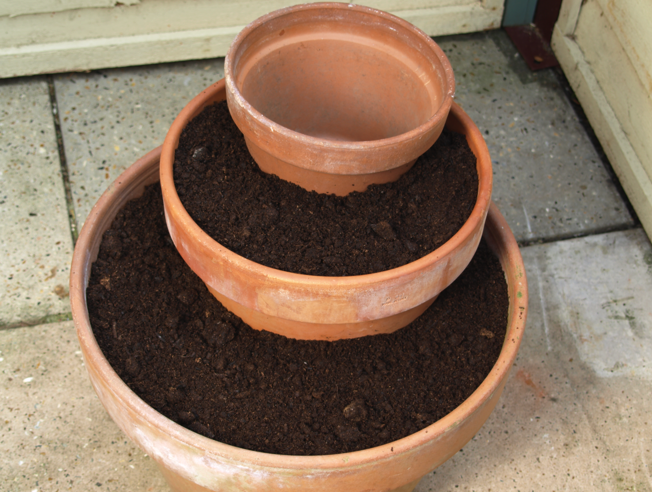 Step 3 of How to make a Herb Planter